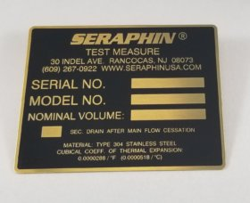 ID Plate - item # EB-12039-3