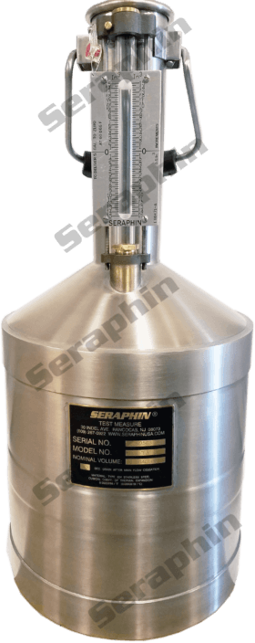 5 Gallon Stainless Steel Test Measure - item # EESS0005GB