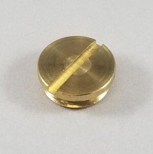 PLUG BRASS SIGHT GLASS - item # E80371
