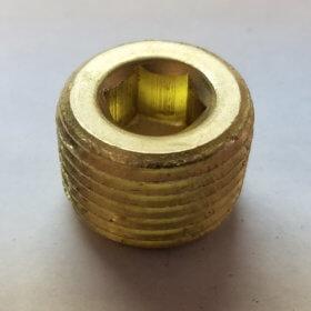 """PIPE PLUG BR. .500"""" - item # EE3162X8"""
